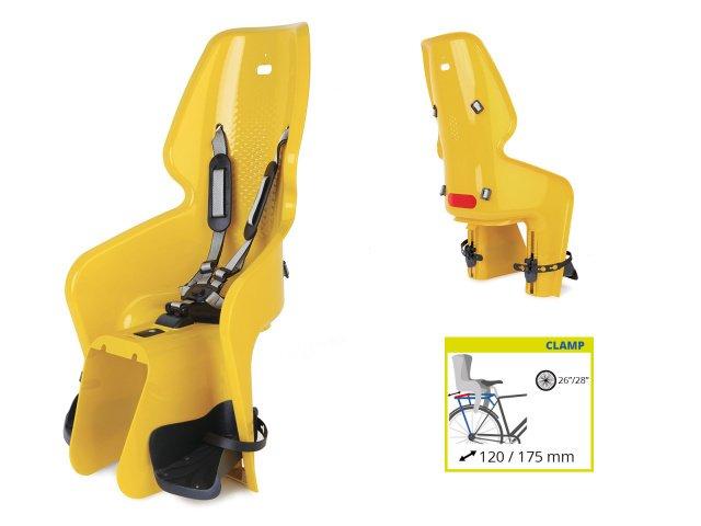 Сидение заднее BELLELLI LOTUS Clamp горчично-жёлтое для ребёнка весом до 22 кг., И-0054727  - купить со скидкой