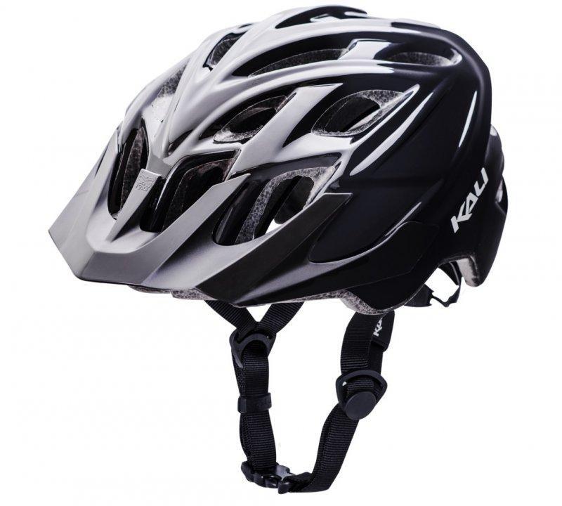 Шлем TRAIL/MTB CHAKRA SOLO Blk 21отв. L/XL 58-61см 292г. черный, CF. KALI., И-0066207  - купить со скидкой
