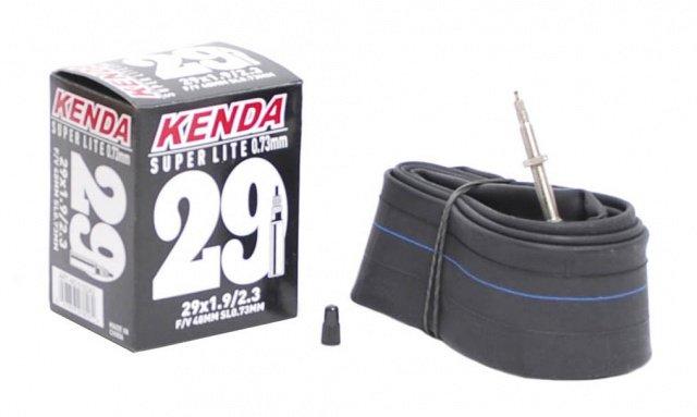 Камера Kenda 29 x1.9-2.3 (50/58-622), спорт 48мм, облегч. SUPERLITE толщ. стенки 0,73мм, 5-515242 - СКИДКА 25%., И-0050191  - купить со скидкой