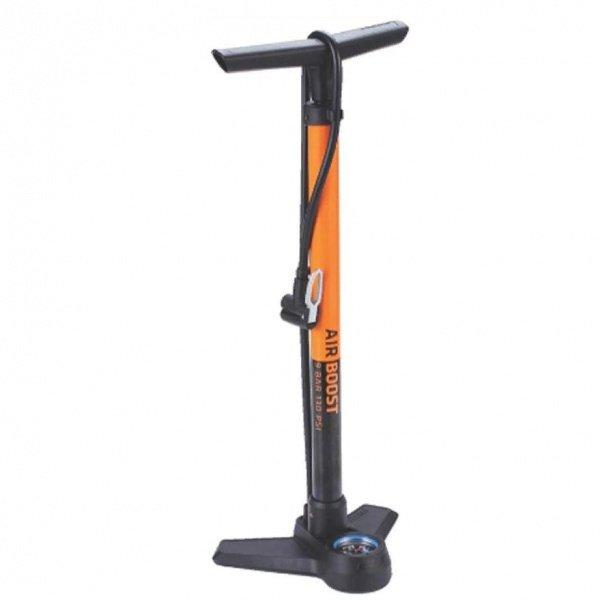 Насос BBB AirBoost steel orange напольный BFP-21 - СКИДКА 17%., И-0066048  - купить со скидкой