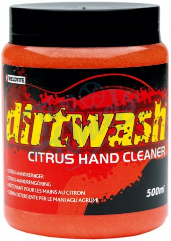 Очиститель 7-03020 для рук CITRUS HAND CLEANER DIRTWASH 500мл (12) WELDTITE - СКИДКА 15%., И-000012199  - купить со скидкой