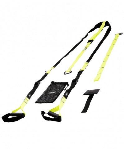 Петли тренировочные STARFIT FA-701, черный/зеленый., И-0068965  - купить со скидкой
