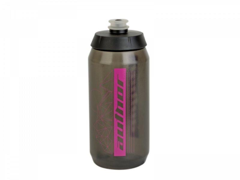 Фляга Author AB-FLASH X9 0.55л полупрозрачная черно-розовая 8-14060096 - СКИДКА 20%., ОПТ00001786  - купить со скидкой