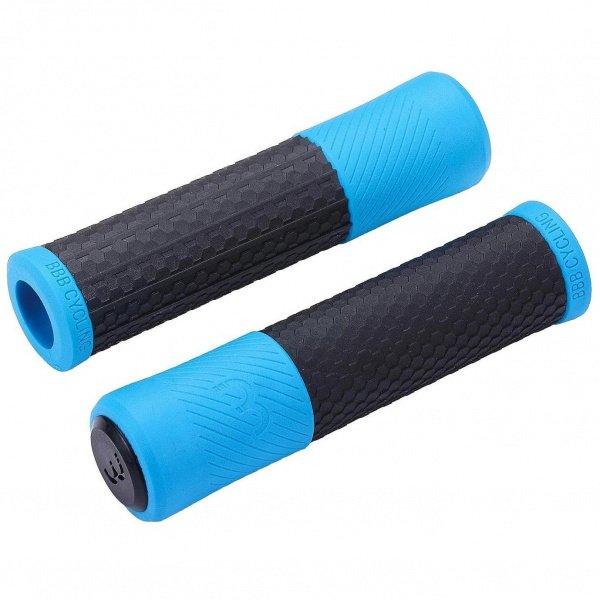 Грипсы BBB Viper черный/синий BHG-97 - СКИДКА 17%., И-0058336  - купить со скидкой