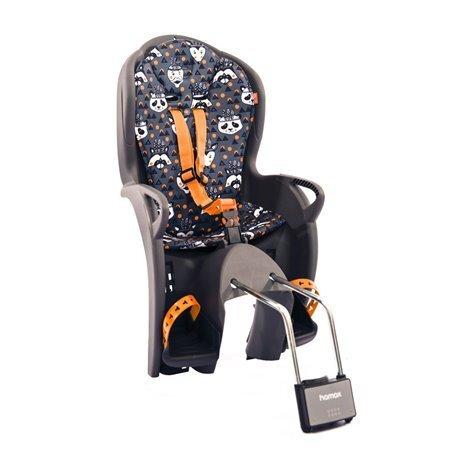 Детское кресло HAMAX KISS серый/оранжевый 551052., И-0058082  - купить со скидкой