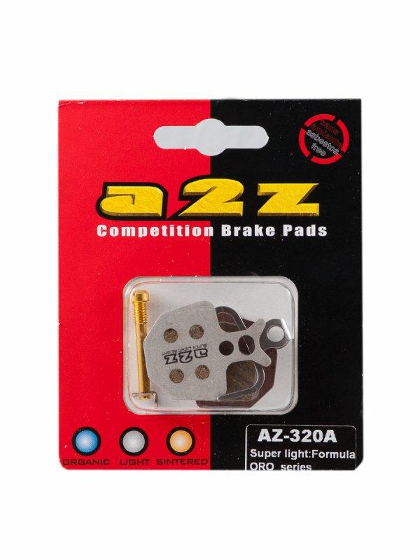 Тормозные колодки A2Z AZ-320A Super light for Formula ORO ., И-0039556  - купить со скидкой