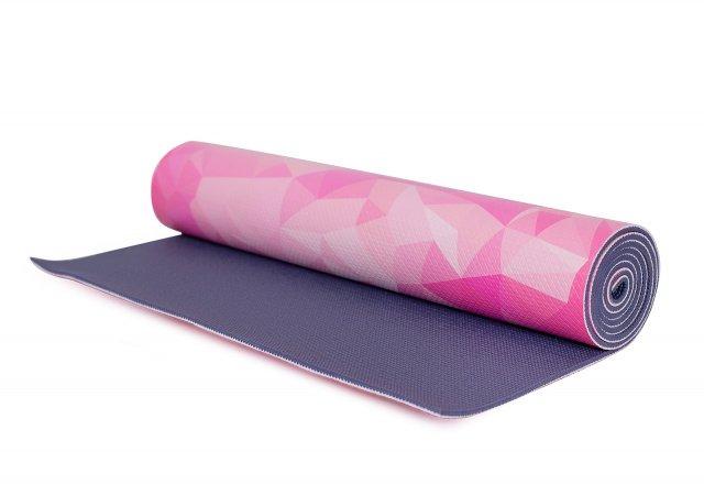Коврик для йоги IRON PEOPLE IR97567 с принтом., И-0068362  - купить со скидкой