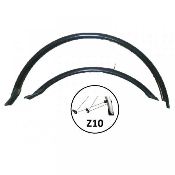 Комплект крыльев удлин, 28 , ширина-50мм, PVC, cтойка Z10., И-0070090  - купить со скидкой