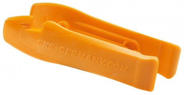 Монтировки 0-10023 пластиковые SKS-10023 с крючками эргон. (2шт) оранж. (10) SKS., И-0025320  - купить со скидкой
