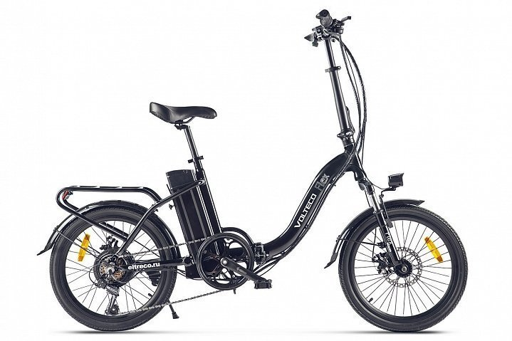 Электровелосипед VOLTECO Flex - СКИДКА 17% + ПОДАРОК., И-0069332  - купить со скидкой