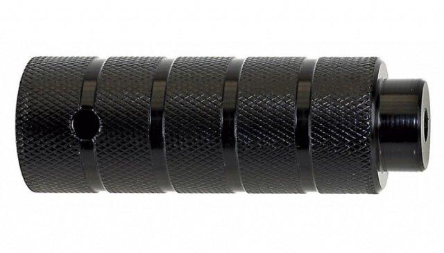 Пеги на ось BMX 38х110 сталь резьба 3/8 х26TPI черные - СКИДКА 3%., И-0038054  - купить со скидкой