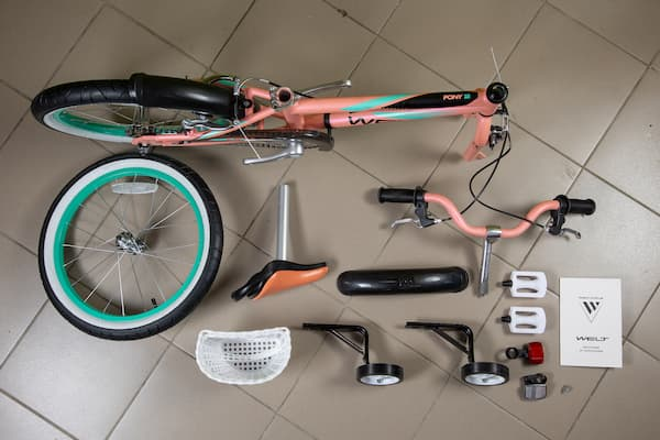 Детский велосипед Welt