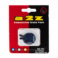 Купить Тормозные колодки A2Z AZ-721 Promax DSK-320/DSK-700, Blue., И-0039555