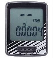Купить Велокомпьютер BBB DashBoard 7 functions silver черный/серый BCP-05 - СКИДКА 17%., И-0049827