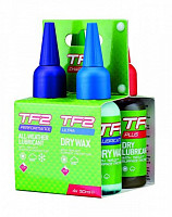 Купить Смазка Weldtite TF2 НАБОР 4х50мл Dry+Wet+AllWeather+DryChainWax 7-03061 - СКИДКА 5%., И-0042069