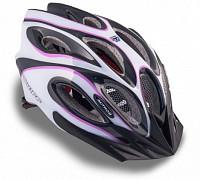 Купить Шлем 8-9001265 спорт. с сеточкой Skiff 144 Prl жен. 14отв. INMOLD фиол.-белый 52-58см (10) AUTHOR - СКИДКА 6%., И-0053201