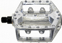 Купить Педали алюминиевые литые широкие резьба 1/2 ., И-000003449