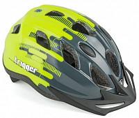 Купить Шлем 8-9090016 с сеточкой Trigger 175Grey INMOLD подростк 12отв серо-неон-желтый 52-56см (10) AUTHOR - СКИДКА 15%., И-0051083
