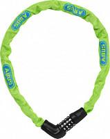 Купить Велозамок кодовый ABUS Steel-O-Chain 5805C/75см цепь 5мм, класс защиты 4/15, 500гр, лаймовый - СКИДКА 14%., И-0074884