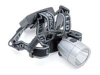 Купить Фара 8-12002221 на лоб 1д.1W повыш. ярк./2ф. A X-Head 1W регул. серебр. (20) с батар. AUTHOR., И-0029635