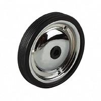 Купить Колеса 00-170299 запасные балансирные (пара, без крепежа) металлические 128мм хромир.(50) - СКИДКА 15%., И-0050452