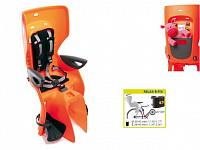 Купить BELLELLI Сидение заднее Summer Relax B-fix, оранжевый, до 22кг - СКИДКА 4% + ПОДАРОК., И-0054732