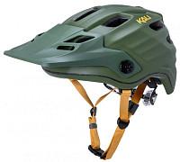 Купить Шлем ENDURO/MTB MAYA2.0 12отв. Mat Khk/Ylw L/XL 60-63см. зеленый/хаки, LDL, CF+. KALI - СКИДКА 10%., И-0068284