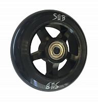 Купить Колесо для трюкового самоката 100мм SUB черное, 00-180100., И-0052831
