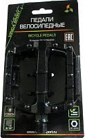 Купить Педали Vinca Sport VP 969 SDU алюминиевые на промподшипниках и DU подшипниках, ось 9/16 , черные., И-0069120