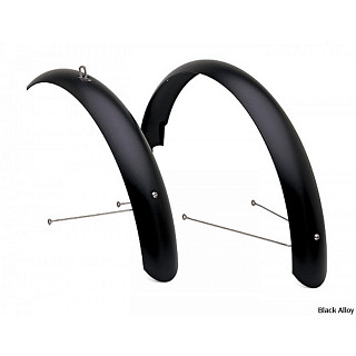 "Крыло Electra Cruiser Alloy Fender Set matte black 26"" mens 350091"