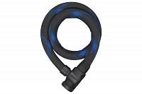 Купить Велозамок ABUS Ivera Steel-O-Flex 7200/85см, ключ, трос 22мм черный - СКИДКА 5%., И-0074839