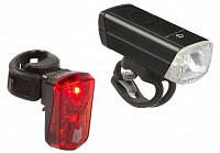 Купить Фара+фонарь M-WAVE, Li-Ion АКБ USB-заряд. 1д 1W 20люкс/95люм/3ф алюм. + 0,5W/2ф, красный, 5-221092 - СКИДКА 8%., И-0057044