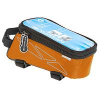 Купить Сумочка-чехол+бокс для смартфона M-Wave ROTTERDAM TOP L черно-оранжевая - СКИДКА 15%., И-0036397