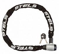 Купить Велозамок цепь на ключе 85704 6x1200mm Black Chain., И-0019031