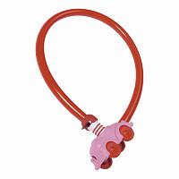 Купить Велозамок ABUS трос 4мм, ключ, Машинка My first 1505/55см, 200гр, розовый - СКИДКА 13%., И-0074830