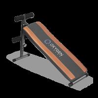 Купить Скамья для пресса OXYGEN FITNESS Flat Sit Up Board - СКИДКА 14%., И-0067104