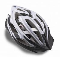 Купить Шлем 8-9001393 спорт. Aero Blk/wht профи 25 отв. Double InMold+алюм. черно-белый 58-62см AUTHOR - СКИДКА 47%., И-0026866