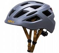 Купить Шлем URBAN/CITY/MTB с фонариком CENTRAL Sld Mat Gry 19отв. KALI - СКИДКА 19%., И-0060505