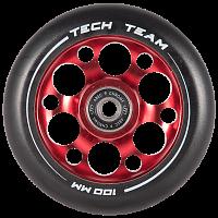 Купить Колесо для трюкового самоката 100мм TECH TEAM Drilled., И-0064273