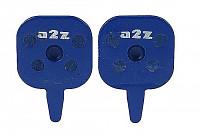 Купить Тормозные колодки A2Z Tektro IO blue., И-0015385