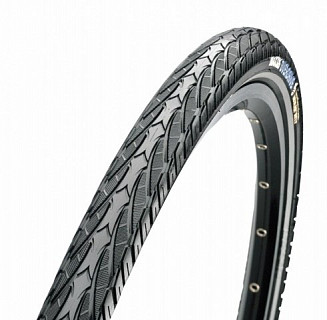 Покрышка Maxxis 700x40C Overdrive TPI 60 сталь 70a MaxxProtect Single TB96135500