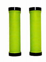 Купить Грипсы Vinca Sport H-G119r 129 мм черный/зеленый., И-0034033