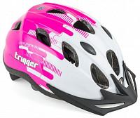 Купить Шлем 8-9090013 с сеточкой Trigger 173 Pnk INMOLD подростковый 12отв бело-розов. 54-58см (10) AUTHOR - СКИДКА 1%., И-0051264