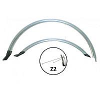 Купить Комплект полноразмерных крыльев 28 Forward FVD28HN12silver., И-0064308