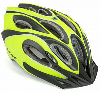 Купить Шлем 8-9001267 спорт. с сеточкой Skiff 171 14отв. INMOLD неоново-желто-черный 52-58см (10) AUTHOR - СКИДКА 4%., И-0053204