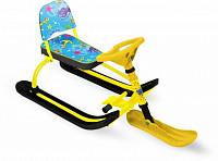 Купить Снегокат Twiny 1 (осьминожки/желтый каркас) - СКИДКА 50%., И-0062695