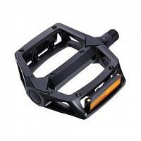 Купить Педали Wellgo B-102 алюминиевые черные, 16 литых шипов, ось cr-mo., И-0070589