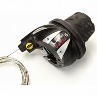 Купить Грипшифт Shimano Tourney RS36 правый, 6 скоростей ASLRS36R6AP - СКИДКА 6%., И-0025699