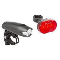 Купить Фара+фонарь 3д NICHIA./2ф. с линзами+3д повыш. ярк/3ф красный до 600м батар. черный SMART - СКИДКА 20%., ОПТ00001782