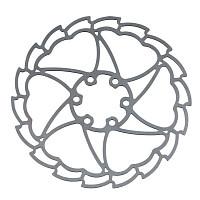 Купить Тормозной диск ALHONGA 160мм HJ-W1523 6 отв., И-0059534